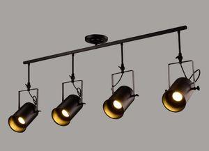 Светодиодный трековый светильник 1/2/3/4 головки 120 Угол наклона луча Светодиодный потолочный светильник AC 85-265V