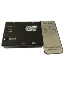 ذكي 3-Port HDMI التبديل الجلاد الفاصل ل Xbox 360 PS3 PS4 HDTV دي في دي تلفزيون الكابل محول HD 1080P 3 في 1 خارج مع IR عن بعد