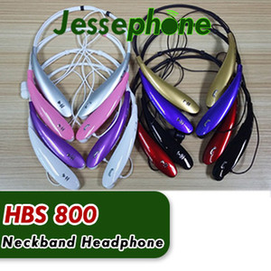 HBS-800 سماعات ستيريو رياضية بلوتوث لاسلكية لسوار للرقبة على شكل سماعات لهواتف اتش تي سي الترا اتش تي اس HBS800 الجديدة