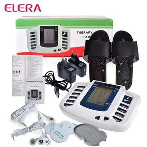 الجملة الكهربائية مشجعا العضلات الجسم الاسترخاء التخسيس مدلك تدليك نبض عشرات الوخز بالإبر آلة العلاج