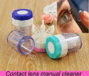 Lavadora de limpieza manual para el limpiador de lentes de contacto de envío gratuito para gafas 3 colores