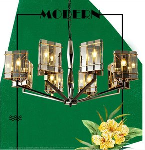 Лофт подвесной светильник промышленные старинные висит 3/5 огни железные люстры для ресторана бар кафе украшения