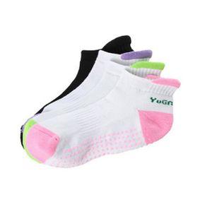2018 Professional Yoga Socks 미끄럼 방지 스포츠 양말 퀵 드라이 실리콘 양말 소프트 MenWomen Cotton 4 COLORS