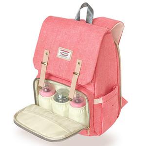 Luxus Landuo Desinger Multifunktions Windel Windel Mummy Backpack Ändern Sport Outdoor Mutter Packs Schultertasche für Baby 2018