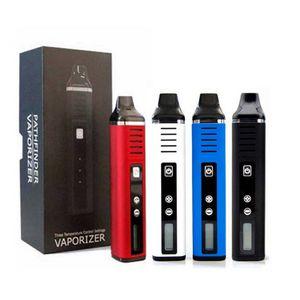 Authentic Pathfinder II 2 초본 기화기 키트 2200mAh 배터리 온도 제어 TC 모드 LCD 화면 왁스 건조 허브 분무기 Vape pen cigarette