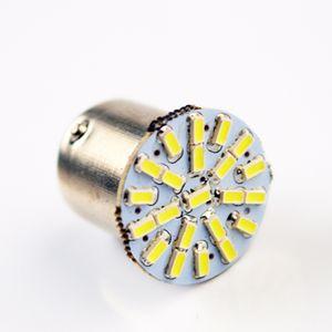100X 1156 22SMD P21W BA15S LED Bulb Car Auto Front Lights Brake Lights Lights Turn Parrking Lamp Bulb 12V