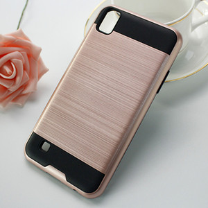 Armor With Case Samsung For Revvl Plus Coolpad Case For Galaxy S9 PLUS C3701A Brushed Dual Layered Shockproof Phone Opp Bags C Gxqto