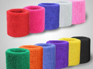 1 par Deportes diadema pulsera para hombres mujeres algodón algodón Terry tela Sweatband para tenis, baloncesto, correr, gimnasio, trabajando