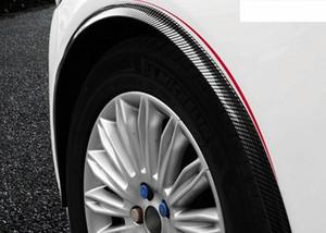 1.5M Carbon Fiber Car Wheel Fender Trim Guard Strips Automotive Car Styling Accessories Exterior Auto Parts