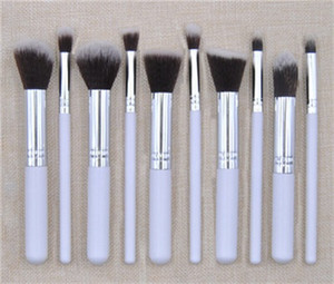 2018 Cosmetic Makeup Brush 10 pieces brush make up brushes tools kit Eyelash foundation Eyeshadow Eyeliner Lip Brush Tool set DHL
