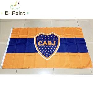 Argentina Club Atlético Boca Juniors Tipo B 3 * 5 pies (90cm * 150cm) Bandera de poliéster Decoración de pancartas Bandera de jardín en casa Regalos festivos