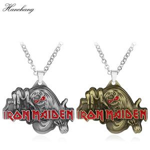 Célèbre Musique Band IRON MAIDEN Killer Collier Iron Maiden Pendentif Collier Hommes Bijoux Amitié Accessoires Cadeau De Noël