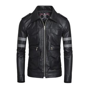 Resident Evil VI Leon Kennedy Faux Leather Jacket