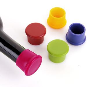 Neuer Wein-Flaschen-Stopper Silikon-Bar Werkzeuge Preservation Wine Stoppers Küche Wein-Champagne-Stopper Getränkeverschlüsse