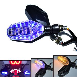Für Motorrad LED Lichter Signal Lichter Zurück Lichter für Kawasaki Ninja ZX-6R ZX7R Hohe Helligkeit ZX9R ZX10R ZX12R ZX14R