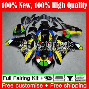Einspritzung für HONDA CBR1000 RR 08 11 CBR1000RR 08 09 10 11 42MT19 CBR 1000 RR Regenbogen heiße CBR 1000RR 2008 2009 2010 2011 Verkleidung Bodywork
