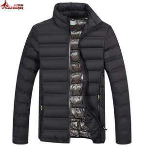 Designer Spring Autumn Light Cotton imbottito Parka Coat Giacca invernale Uomo Military Outwear Giacche bomber frangivento Taglia M ~ 4XL