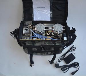 BD-401 Unité dentaire portable pratique avec système d'aspiration du compresseur d'air Seringue 3 voies 4H