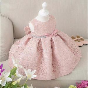 Bibihou Été Princesse Bébé Filles Robe Pour Enfant Porter Mariage Pageant Toddler Fille Vêtements Ceinture Infant Robes De Fête 1-5ans