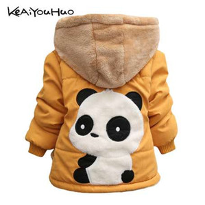 KEAIYOUHUO Winter Christmas Baby Girls Jacket Casual Jacket For Girls Coat Kids Warm Cotton Outerwear Coat Children Clothes