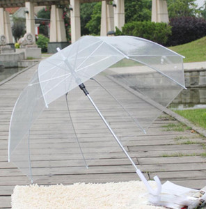 Clear Cute Bubble Deep Dome Paraguas Gossip Girl Resistencia al viento transparente Mushroom Umbrella Decoración de la boda