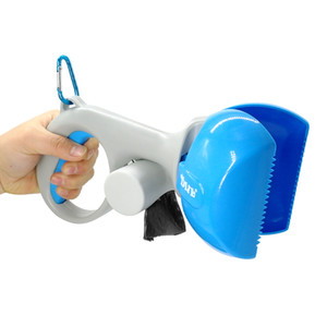 Portátil Pet Pooper Scooper Cão Cat Poop Scooper Dog Pet Waste Bag Holder Cães Poop Fácil Pick Up Ferramentas de Limpeza