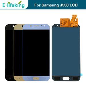 Samsung Galaxy Için Ekran J5 Pro 2017 J530 J530F LCD Samsung J5 2017 J530 Için Dokunmatik Ekran Digitizer Meclisi ile Parlaklık Ayarlanabilir