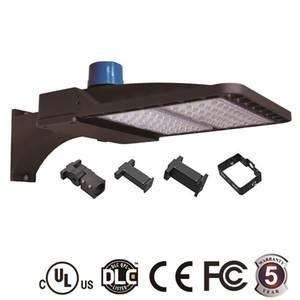 LED Park Lots 100 W 150 W 200 W LED Sokak Işık UL DLC CE ETL Fotoğraf Hücre Hareket Sensörü Shoebox Işık AC 90-277 V