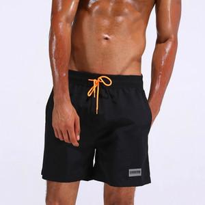 Summer Beach Swimsuit Men 'S Quick -Drying Swimwear Men Comfortable Breathable Swimwear Beach Shorts Sexy Solid Male Swimsuit