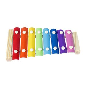 Kids 8-Note Wooden Musical Toys Teaching Aid Child Early Educational Wisdom Development Music Instrument Baby Toys