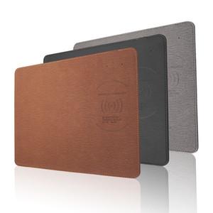 Беспроводная зарядка коврик для мыши 5 Вт 10 Вт быстрая быстрая зарядка для iPhone X 8 Samsung S8 Plus Примечание 8 QI Wireless Charger Pad