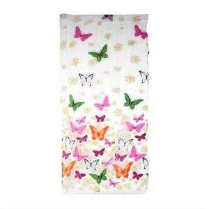 ¡Ventas al por mayor! Mariposa romántica cortinas transparentes tul 1x2m para cortinas plisadas puerta y puerta