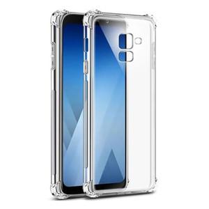 10 шт. Для Samsung A8 2018 мягкий кремний четыре угла полная защита телефон случае высокий прозрачный подушки безопасности крышка мобильного телефона