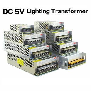 5V 2A / 3A / 4A / 5A / 8A / 10A / 12A / 20A / 30A / 40A / 40A / 60A Switch LED Fuente de alimentación Transformadores WS2812B WS2801 SK6812 SK9822 APA102 tira de LED