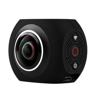 4K câmera panorâmica, lente dupla VR HD, câmera de movimento de 360 graus, câmera ao ar livre de 720 graus.