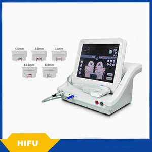 2018 High Intensity Focused Ultrasound Hifu Machine para cara y cuerpo con 5 cartuchos envío gratis