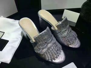 NUOVA Europa Marchio Moda sandali mensstriped causale antiscivolo estate huaraches pantofole infradito pantofola MIGLIORE QUALITÀ35-40