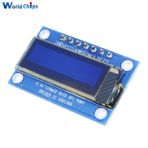 0,91 pollici 128x32 display LCD OLED bianco modulo Oled SSD1306 driver IC per Arduino PIC SPI Porta DC 3.3 V-5 V