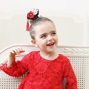 Neue Prinzessin Of China Quasten Haarnadel Neue und Phantasie Blume Quaste Haarschmuck China Wind Kinder Haarspangen