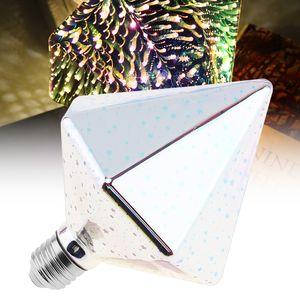85-265 В 7 Вт Цвет Светодиодная Лампа Дрель Тип 3D Украшения Фейерверк Лампы на Рождество / Праздник / Украшение интерьера LEG_40Z