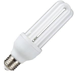 Fabrika toptan U tipi üç birincil enerji tasarruflu lamba süper parlak 3U spiral enerji tasarruflu lamba Aydınlatma Ampüller