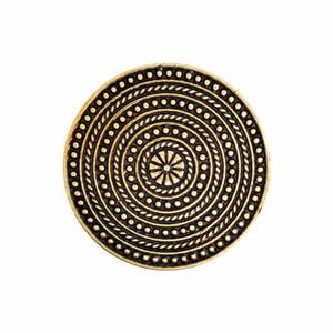 Viking Broches Norse Epaule Broche Vintage Argent Bronze Tablier Pins Boucle Veste Robe Manteau Collier Pin Badge Hommes Bijoux