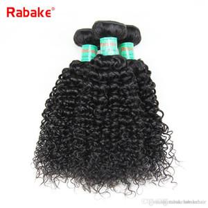 8-28 inch Peruvian Virgin Human Hair Bundles Kinky Curly Rabake Afro Kinky Human Hair Weave Extensions Natural Black Full Head Wholesale