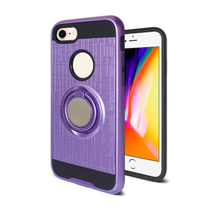 For Moto E5 Plus E5 Play Case with Ring Holder Kickstand 360 Degree Rotating Ring Holder Case for Motorola G6 Play New Armor Cover