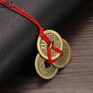 FANALA Lucky Necklaces Emperor Amuleto Riqueza y monedas para la colección de monedas de dinero de latón