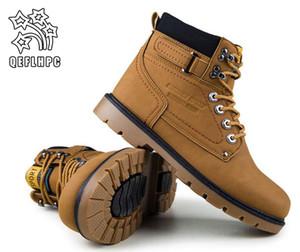 2018. Invierno. Botas de los hombres. Zapatos casuales de moda. impermeable y cálido. Medias botas de nieve. Martin Western Cowboy Boots.
