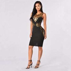 Summer Party Dresses Европа Россия Trend Женщины супер звезда бренда красный фиолетовый лоскутное Яркие кружева рукавов партии Tight высокий эластичный пояс