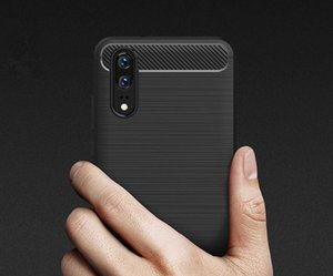 2018 년 화웨이 P20 P20 프로 럭셔리 탄소 섬유 헤비 듀티 케이스 MPS3을위한 새로운 CellPhone 케이스
