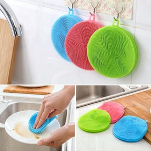 Magic Cleaning Brushes Silicone Dish Bowl Scouring Pad Pot Pan Facile da pulire Wash Brushes Cleaning Brushes Kitchen
