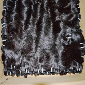 Heureux temps bon marché Trains Trains 6pcs / Lot Body Wave Péruvien Humain Hair Extensions Beautiful Bundles Love